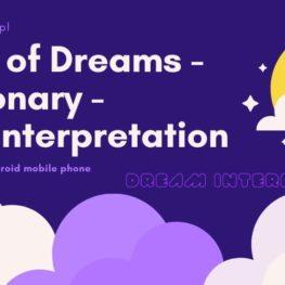 Diary of Dreams - Dictionary - Real Interpretation - Dream Apps