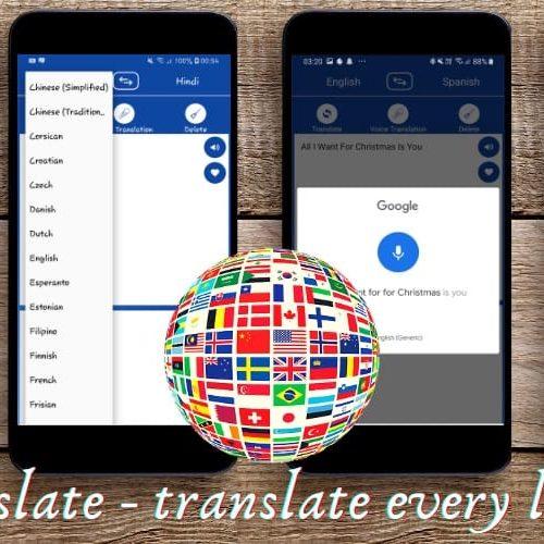 Go Translate – translate every language !