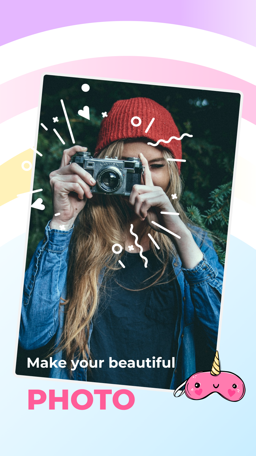 Photo Camera Editor – Collage, frames, filters
