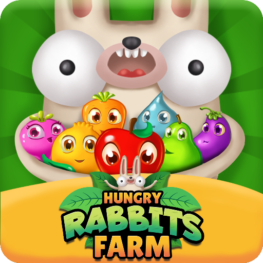 Hungry Rabbits Farm – Match 3 Puzzle