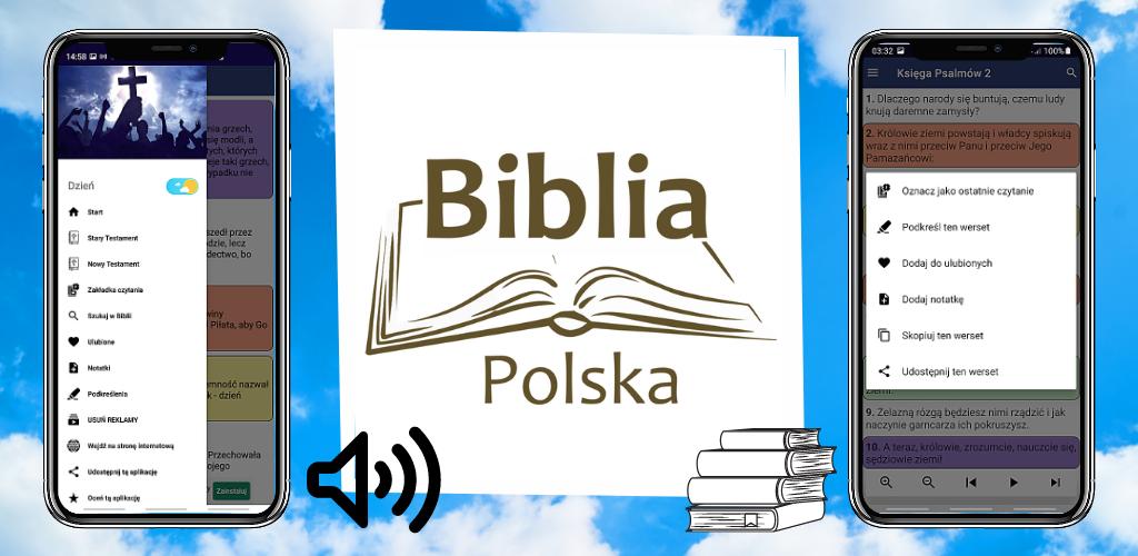 BIBLIA POLSKA – AUDIO – Pismo Święte PL