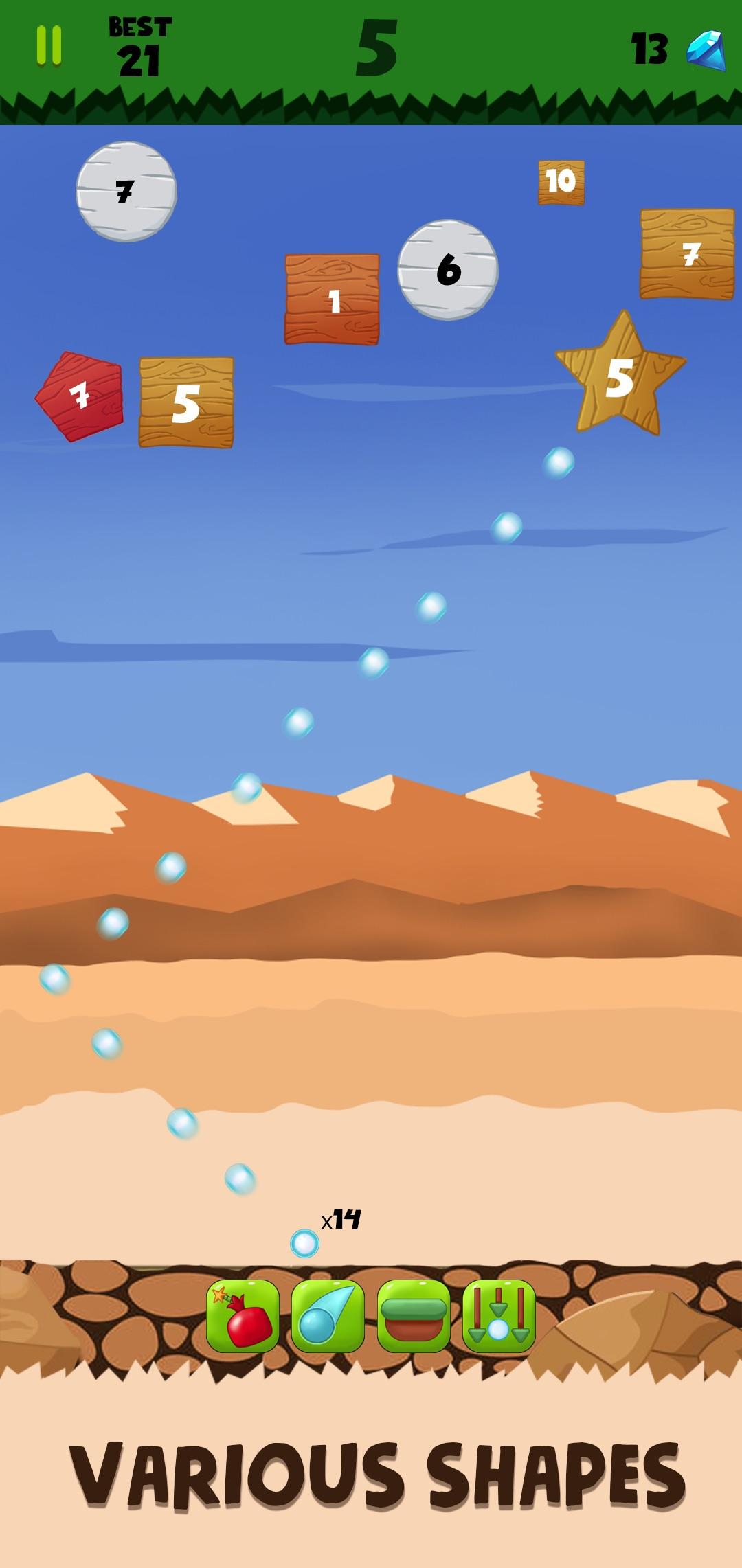 Jungle Ball Bricks Breaker – Bouncing ball game